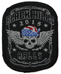 Black Hills Rally 2015 Embroidered Emblem